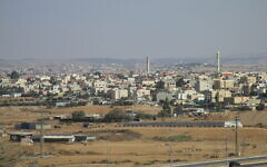 A view of the Bedouin town of Tel Sheva (CC-BY Avishai Teicher/Wikipedia)