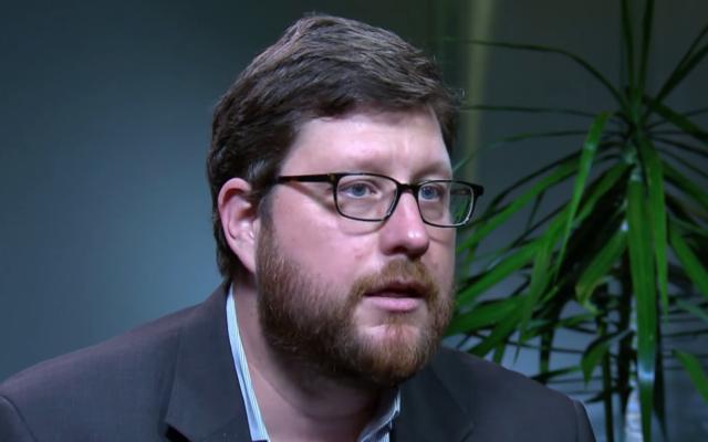 Foreign policy adviser to Senator Bernie Sanders, Matt Duss. (Screen capture/YouTube)