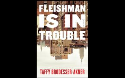 """The cover of Taffy Brodesser-Akner's novel """"Fleishman Is in Trouble."""" (Penguin Random House via JTA)"""