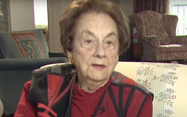 Carola Eisenberg (Screen capture: YouTube)