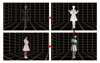 TetaVi's technology creates 3D holograms for  videos or photos using a fraction of the equipment currently required (TetaVi)