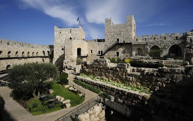 The Tower of David Museum, which is currently pursuing a $40 million renewal project (Naftali Hilger/ Tower of David Museum)