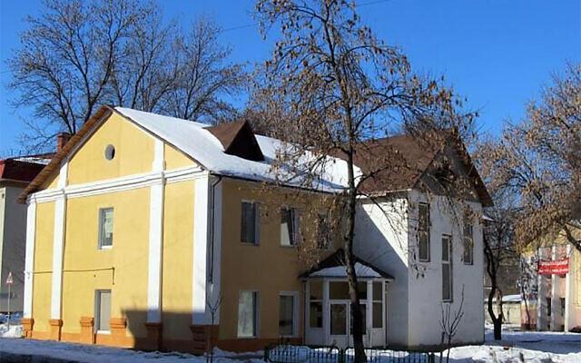 The headquarters of the Jewish Community of Gomel, Belarus. (Jews.Bel via JTA)