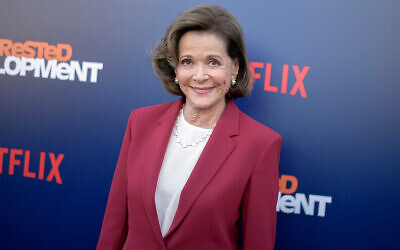 "Jessica Walter attends the LA Premiere of ""Arrested Development"" Season Five in Los Angeles, May 17, 2018. (Photo by Richard Shotwell/Invision/AP, File)"