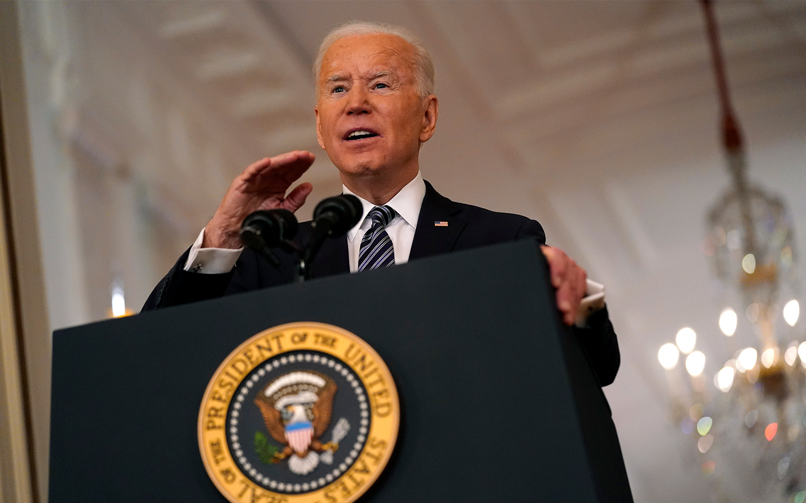 Biden calls for vaccine eligibility for all adults by May 1