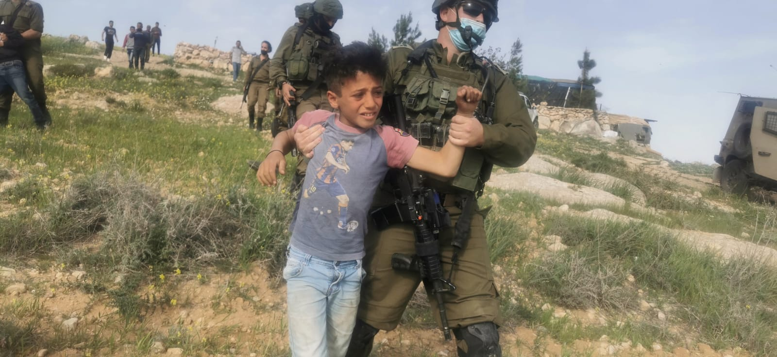 IDF detains 5 Palestinian children suspected of trespassing at West Bank  outpost | The Times of Israel
