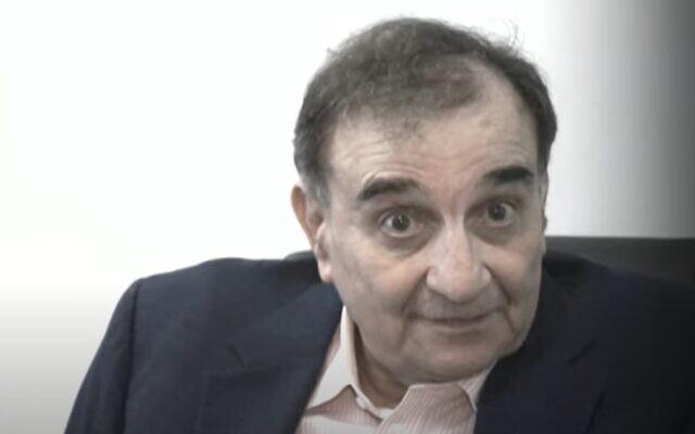 Ari Ben-Menashe. (YouTube screenshot)