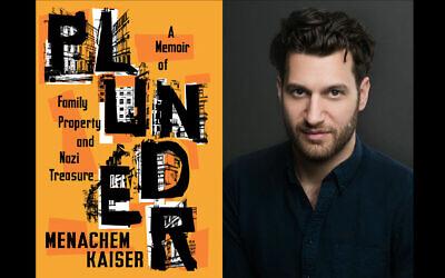 Menachem Kaiser documents his journey in 'Plunder.' (Beowulf Sheehan/Houghton Mifflin Harcourt)