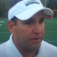Former head coach of Duxbury High School's football team Dave Maimaron (video screenshot)