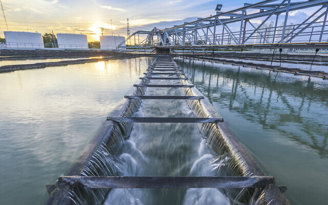 An illustrative image of a water treatment plant (tuachanwatthana; iStock by Getty Images)