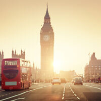 Westminster Bridge at sunset, London, UK (IakovKalinin; iStock by Getty Images)