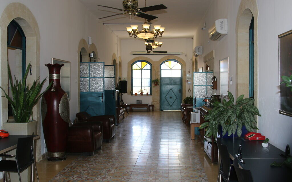 The Lauder Employment Center is housed in a renovated Turkish villa in Beersheba. (Shmuel Bar-Am)