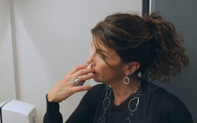 Gilly Regev, Nose spray Enovid Anti COVID-19 Nasal Spray