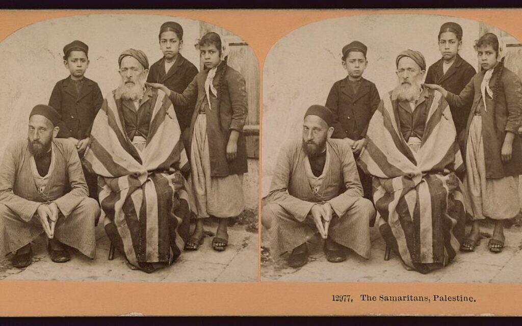 Kilburn, B.W. The Samaritans, Palestine. Middle East, ca. 1899. Littleton, N.H.: photographed and published by B.W. Kilburn, February 16. Photograph. https://www.loc.gov/item/2006679651/.