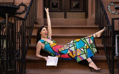 Grammy-winning performer Joanie Leeds in New York City (courtesy)