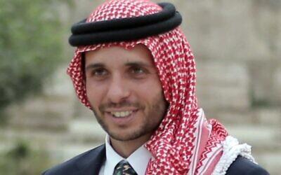 Jordan's Prince Hamzah Bin Al-Hussein, in 2015. (KHALIL MAZRAAWI / AFP)
