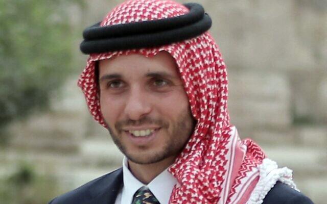 Jordan's Prince Hamzah Bin Al-Hussein in a 2015 photo (KHALIL MAZRAAWI / AFP)