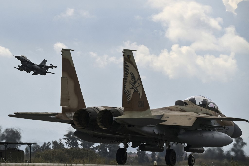 Israeli, UAE fighter jets fly together in large international exercise in Greece | The Times of Israel