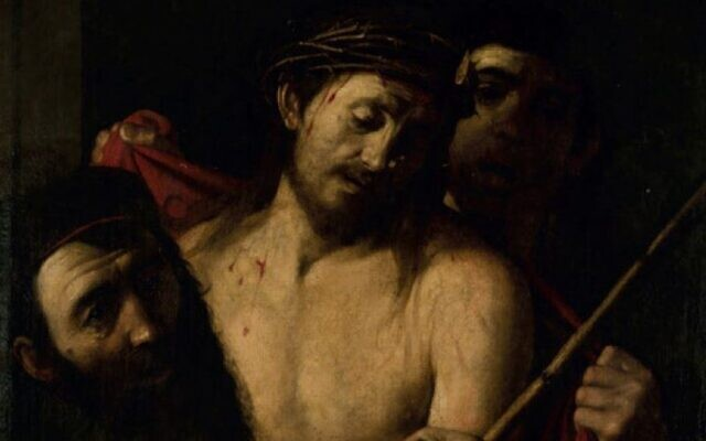 A possible lost masterpiece experts say may be by the Italian Renaissance painter Caravaggio. (Image via auction house Casa Ansorena de Madrid)