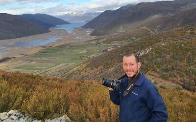 Travel blogger and photographer Matan Hirsch. (Courtesy)