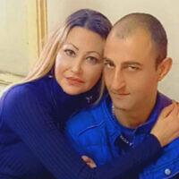Munir Anabtawi with his sister. (Mossawa Center)
