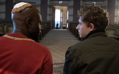 From left: Sammi Rotibi as 'Nate' and John Berchtold as 'Isaac' in 'The Forbidden Wish' (Underdog Overkill Productions)