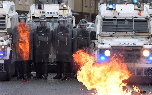 As in Seventies, Northern Ireland's Jews look to weather violence in Belfast