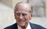 In this Wednesday July 22, 2020 file photo, Britain's Prince Philip arrives for a ceremony for the transfer of the Colonel-in-Chief of the Rifles from himself to Camilla, Duchess of Cornwall, at Windsor Castle, England (Adrian Dennis/Pool via AP, File)