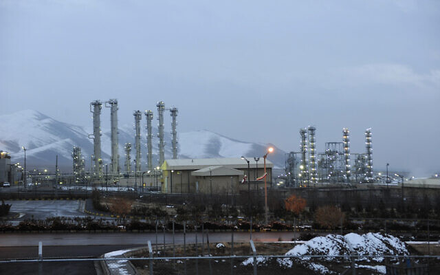 FILE - This Jan. 15, 2011 file photo shows the heavy water nuclear facility near Arak, Iran. (AP Photo/ISNA, Hamid Foroutan, File)
