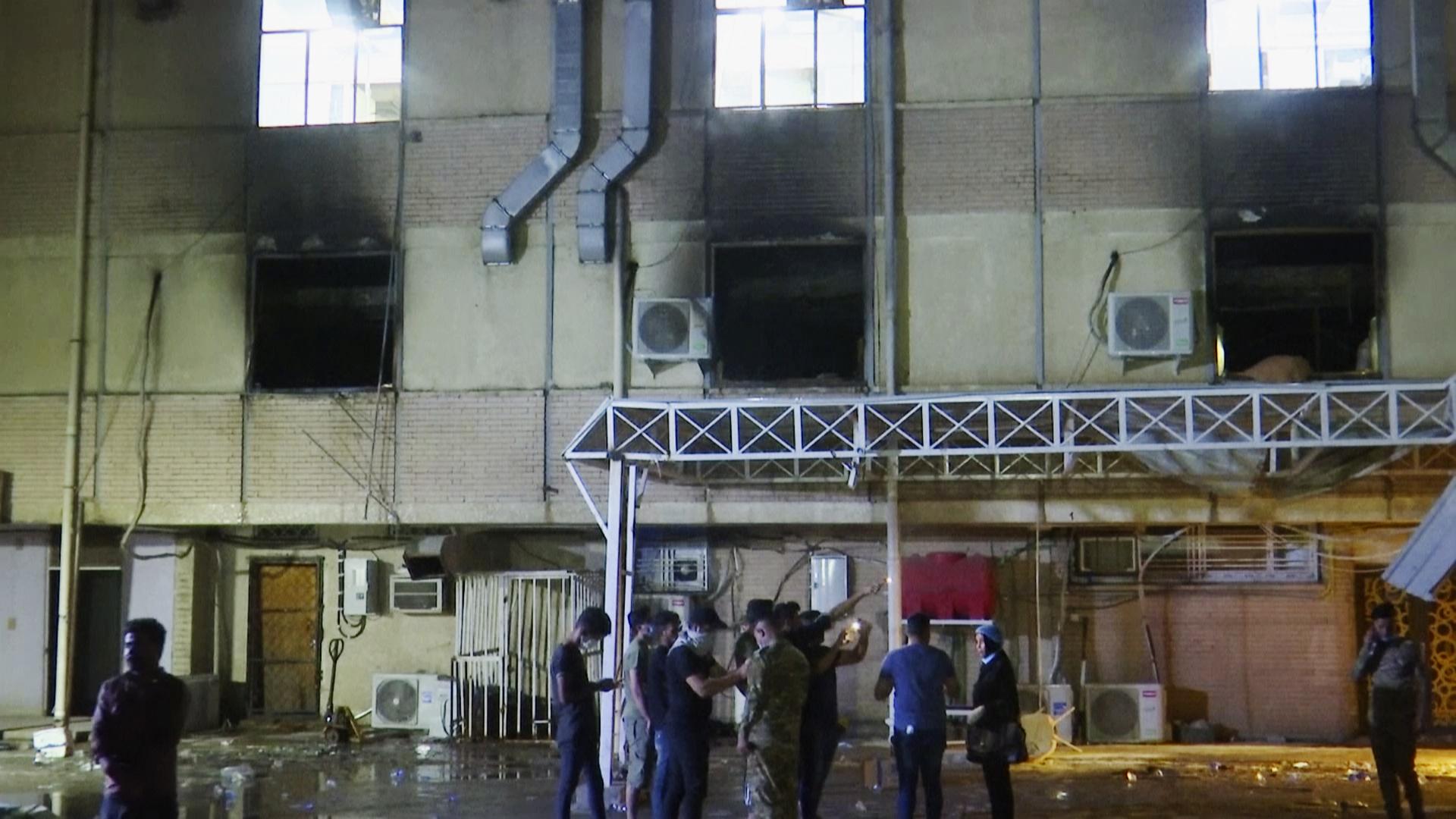 explotara ocigeno en hospital de Bagdad