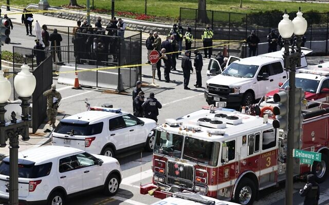 Emergency situation at US Capitol, reports of shots fired, officers injured