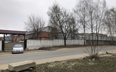The penal colony where a hospital for convicts is located in Vladimir, a city 180 kilometers (110 miles) east of Moscow, Russia, April 19, 2021. (AP Photo/Sergei Fedotov)