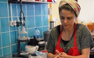 Ariel Pollock Star makes bagels for her small business, Little City Bagels, which is part of the baking collaborative she launched, Lehem Zeh. (Courtesy)