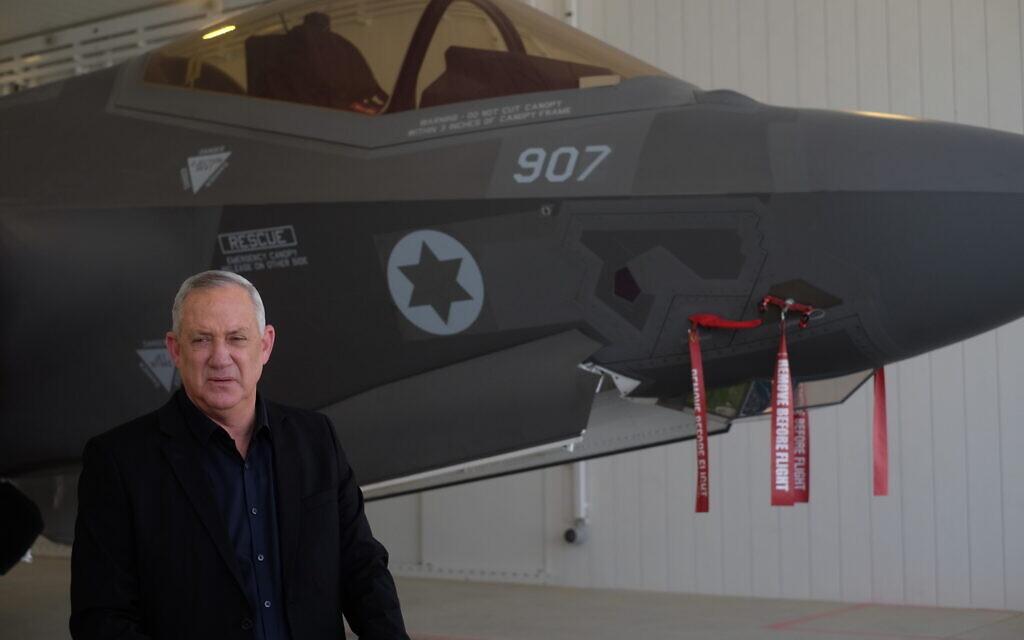 Amid leaks, Gantz orders probe into 'chatter' on alleged Israeli strikes on Iran