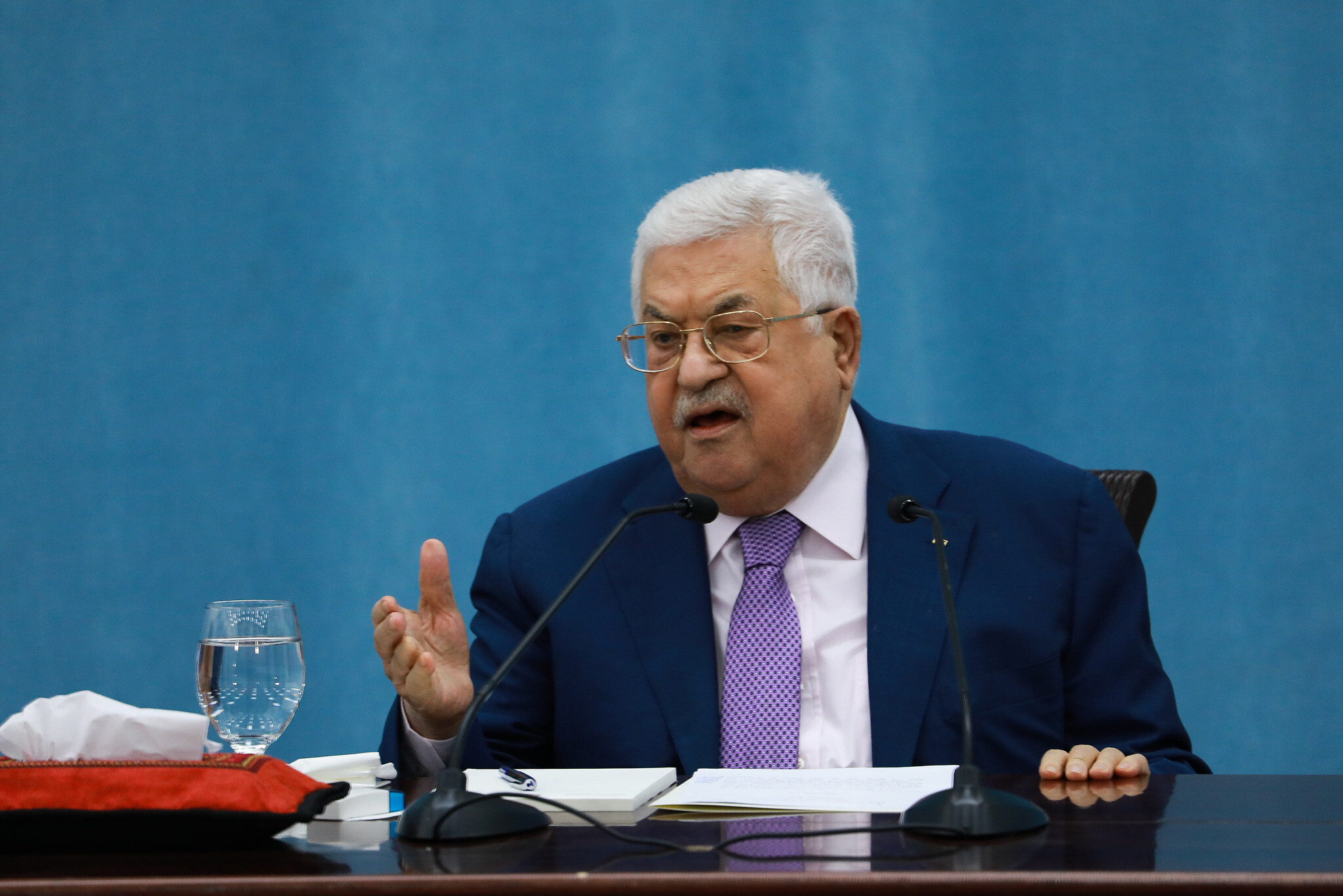Abbas officially delays Palestinian elections, blaming Israel | The Times of Israel