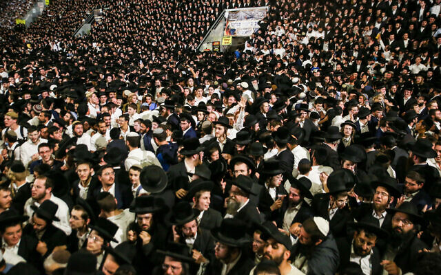 44 crushed to death, over 150 hurt in stampede at mass Lag B'Omer event in  Meron | The Times of Israel