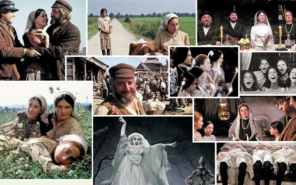 Scenes from 'Fiddler on the Roof.' (courtesy Jewish News)