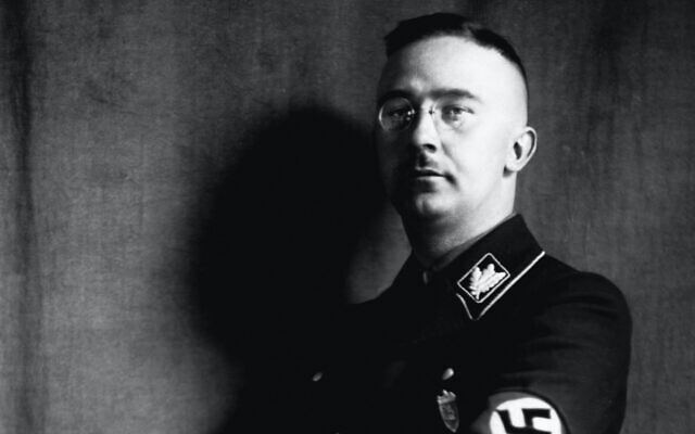 Heinrich Himmler, the leader of the Gestapo and the SS, in the 1930s. (Corbis via Getty Images)