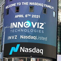 Innoviz shares start trading on Nasdaq on April 6 after merger with SPAC completed (Courtesy)