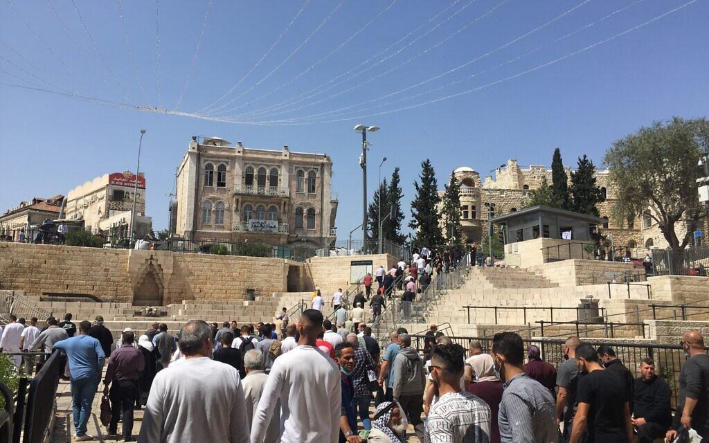 In Jerusalem's Old City, Palestinians celebrate return to a near-normal Ramadan
