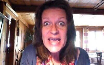 Alison Chabloz. (Screen capture: YouTube)