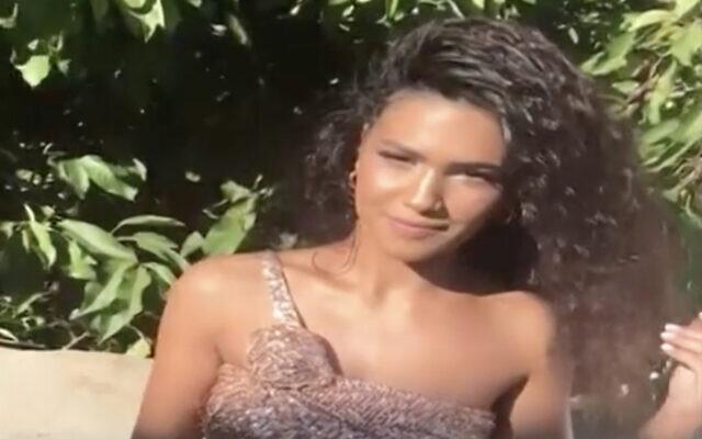 Shirel Hilel (Screen capture: Channel 13 news)