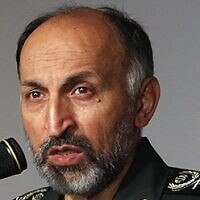 Iranian deputy commander of the Quds force of the IRGC, Muhammad Hussein-Zada Hejazi. (Wikimedia Commons/CC BY 4.0)