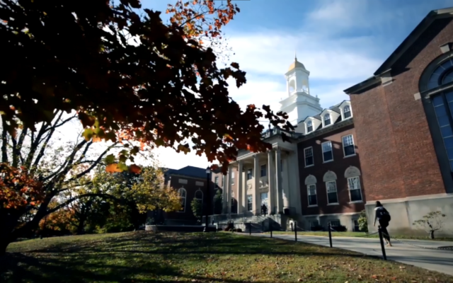 A view of the Storrs campus at Connecticut University (YouTube screenshot)