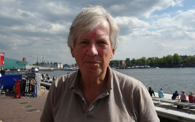 Hans Achterhuis in Amsterdam, Aug. 27, 2017. (Wikimedia Commmons via JTA)
