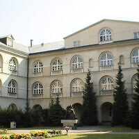 The Catholic University of Lublin (Wikimedia Commons via JTA)