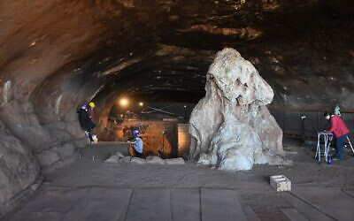 The Wonderwerk Cave in South Africa. (Michael Chazan at the University of Toronto)