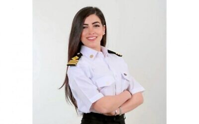 Egypt's first female ship's captain, Marwa Elselehdar. (Instagram Photo/@marwa.elselehdar)