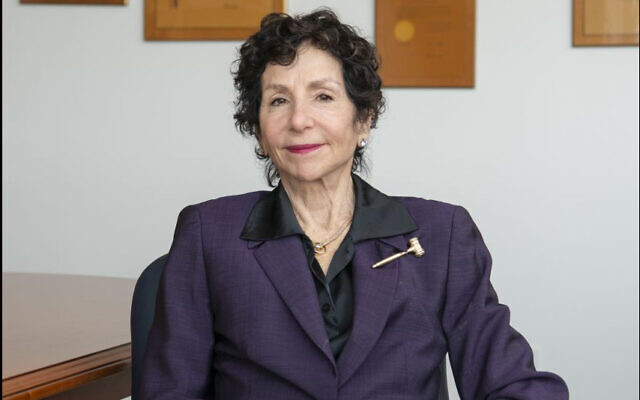 Judge Sandra J. Feuerstein, a longtime federal judge in the Eastern District of New York. (Cardozo School of Law via JTA)