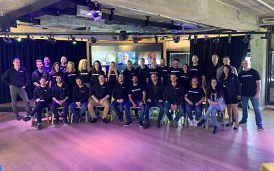 Participants in the 2021 Techstars accelerator program, April 4, 2021 (Yoni Wolf)